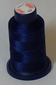 RAPOS-408 Dark Blue Embroidery Thread Cone – 1000 Meters R1K 408