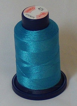 RAPOS-425 Light Teal Embroidery Thread Cone – 1000 Meters R1K 425