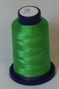 RAPOS-509 Classic Green Embroidery Thread Cone – 1000 Meters R1K 509