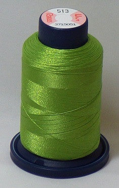 RAPOS-513 Green Yellow Embroidery Thread Cone – 1000 Meters R1K 513