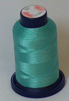 RAPOS-531 Green Blue Embroidery Thread Cone – 1000 Meters R1K 531