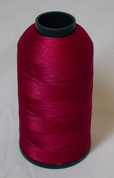 RAPOS-107 Purple-Red Embroidery Thread Cone – 5000 Meters
