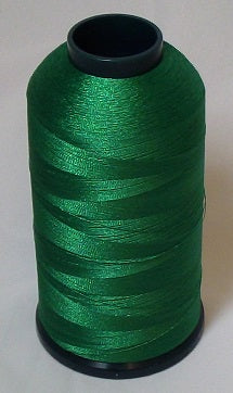 RAPOS-1533 Farmer Green Embroidery Thread Cone – 5000 Meters