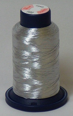 RAPOS-RGS DDS Dark Silver Metallized Embroidery Thread Cone – 800 Meters (DDS)