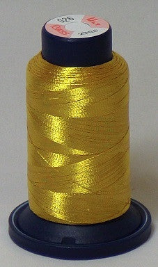 RAPOS-RGS26 Dark Gold Metallized Embroidery Thread Cone – 800 Meters (G26)