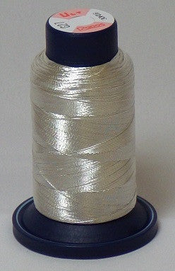 RAPOS-RGS27 Silver Metallized Embroidery Thread Cone – 800 Meters (G27)
