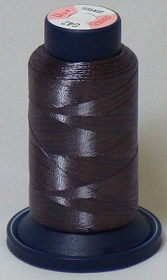 RAPOS-RGS42 Gray Metallized Embroidery Thread Cone – 800 Meters (G42)