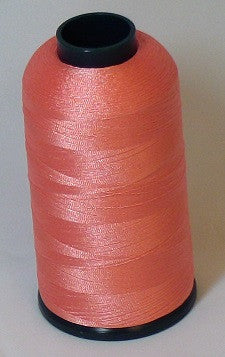 RAPOS-1025 Light Candy Peach Thread Cone – 5000 Meters