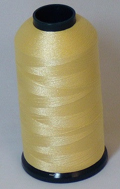 RAPOS-1111 Dull Yellow Thread Cone – 5000 Meters