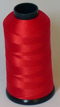 RAPOS-113 Medium Orange-Red Thread Cone – 5000 Meters