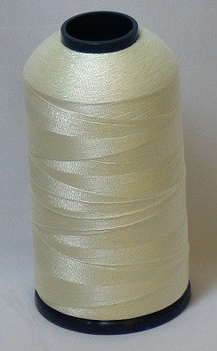 RAPOS-1200 Crème White Thread Cone – 5000 Meters