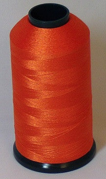 RAPOS-128 Classic Orange Thread Cone – 5000 Meters