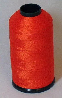 RAPOS-129 Dark Bright Orange Thread Cone – 5000 Meters
