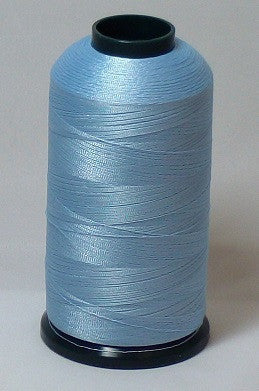 RAPOS-1403 Light Blue Level 2 Embroidery Thread Cone - 5000 Meters