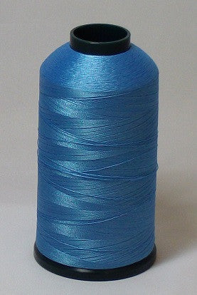 RAPOS-1404 Medium Blue Embroidery Thread Cone – 5000 Meters