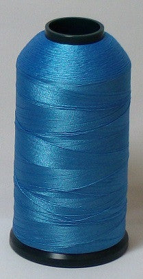 RAPOS-1419 Med Blue Green Embroidery Thread Cone – 5000 Meters
