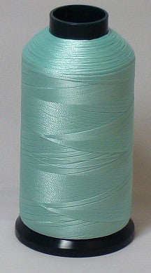 RAPOS-1421 Light Blue Green Embroidery Thread Cone – 5000 Meters