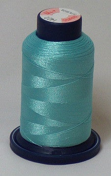 RAPOS-1422 Light Aqua Embroidery Thread Cone – 1000 Meters R1K 1422