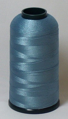 RAPOS-1430 Blue Grey Embroidery Thread Cone – 5000 Meters