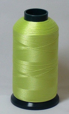 RAPOS-1511 Yellow-Green Embroidery Thread Cone – 5000 Meters