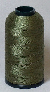 RAPOS-1518 Light Olive Drab Embroidery Thread Cone – 5000 Meters