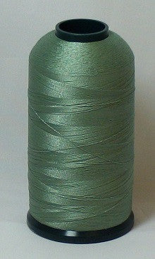RAPOS-1701 Green Grey Embroidery Thread Cone – 5000 Meters