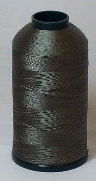 RAPOS-1708 Dark Charcoal Grey Embroidery Thread Cone – 5000 Meters