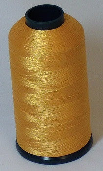 RAPOS-212 Light Gold Yellow Thread Cone – 5000 Meters