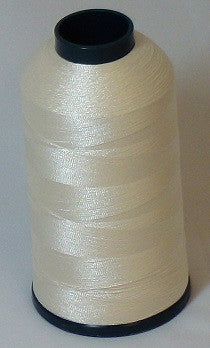 RAPOS-216 Coconut White Thread Cone – 5000 Meters