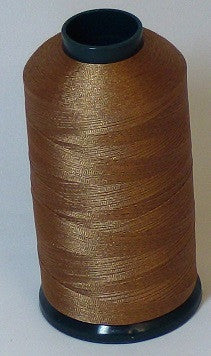 RAPOS-323 Dark Tan Brown Thread Cone – 5000 Meters