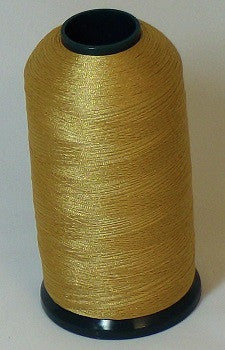 RAPOS-348 Medium Hazy Gold Thread Cone – 5000 Meters