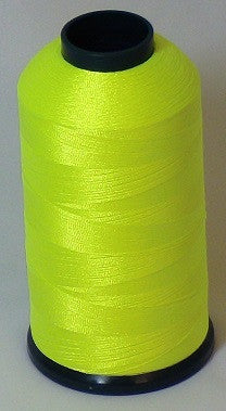 RAPOS-36 Neon Light Yellow Thread Cone – 5000 Meters