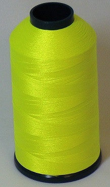 RAPOS-37 Neon Lemon Lime Thread Cone – 5000 Meters