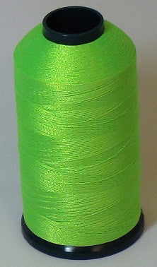 RAPOS-38 Fluorescent Amy Lime Thread Cone – 5000 Meters