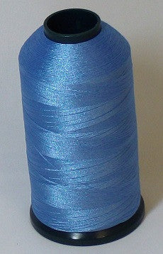 RAPOS-403 Pale Medium Blue Thread Cone – 5000 Meters