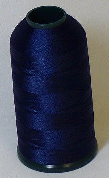 RAPOS-409 Deep Dark Blue Thread Cone – 5000 Meters