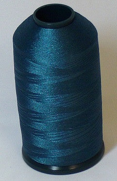 RAPOS-415 Stained Glass Blue Thread Cone – 5000 Meters