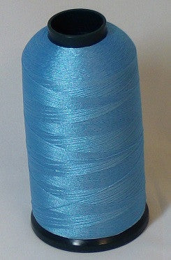 RAPOS-417 Vibrant Blue Thread Cone – 5000 Meters