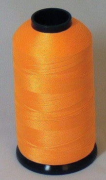 RAPOS-43 Papaya Orange Thread Cone – 5000 Meters