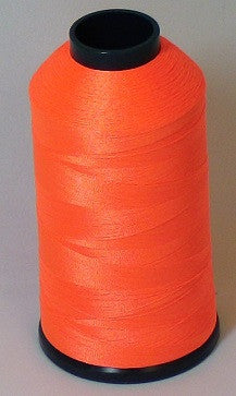 RAPOS-45 Fluorescent Orange Thread Cone – 5000 Meters