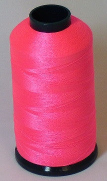 RAPOS-46 Fluorescent Pink Thread Cone – 5000 Meters