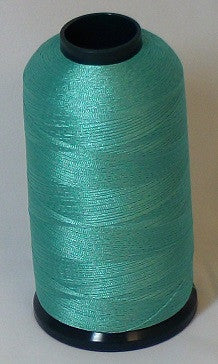 RAPOS-531 Green Blue Thread Cone – 5000 Meters