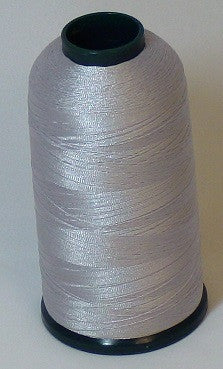 RAPOS-703 Pale Grey Pearl Thread Cone – 5000 Meters