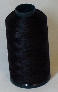 RAPOS-900 Black Embroidery Thread Cone – 5000 Meters
