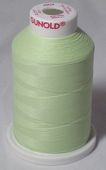 Green Glow in The Dark Embroidery Thread