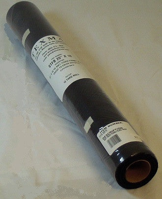 Soft Touch Fusible Black Tricot 20-inch x 10-yard Continuous Roll