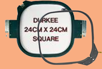 Durkee 24cm (9.5-inch) Tubular Square Hoop