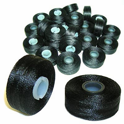 Fil-Tec Magna-Glide Black Magnetic Bobbins - Box of 10