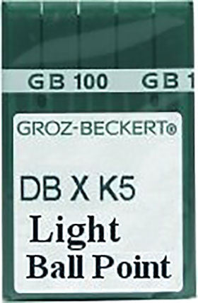 Groz-Beckert 70/10 Light Ball Point Needles - 10 pack