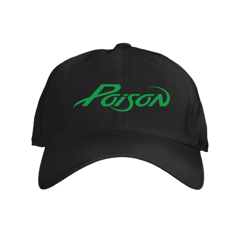 Poison Logo Hat (Green)